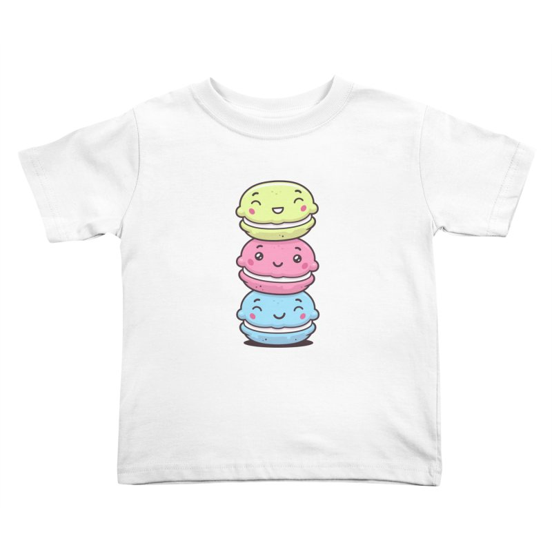 Funny Macarons Kids Toddler T-Shirt by zoljo's Artist Shop