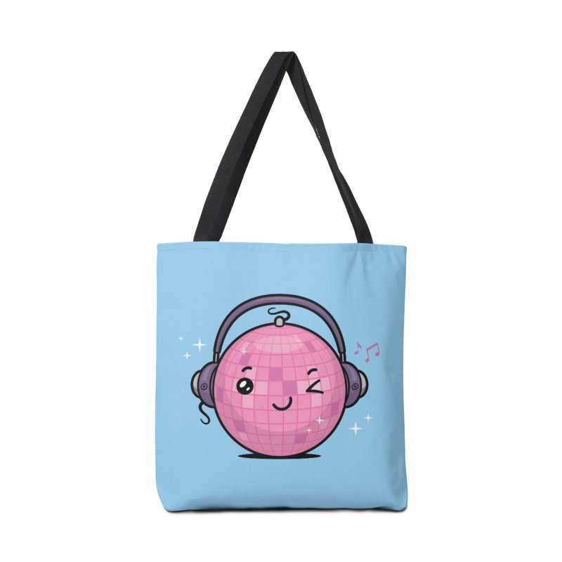 Cool Disco Ball Accessories Tote Bag Bag by zoljo's Artist Shop