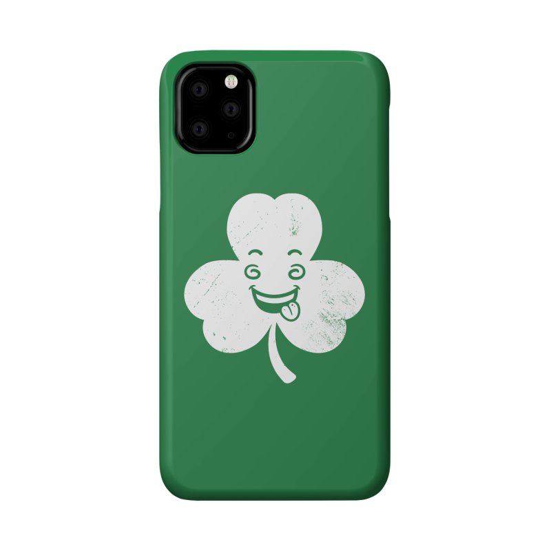 Wacky Shamrock Accessories Phone Case by zoljo's Artist Shop