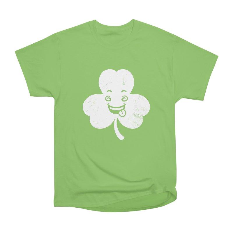 Wacky Shamrock Men's Heavyweight T-Shirt by zoljo's Artist Shop