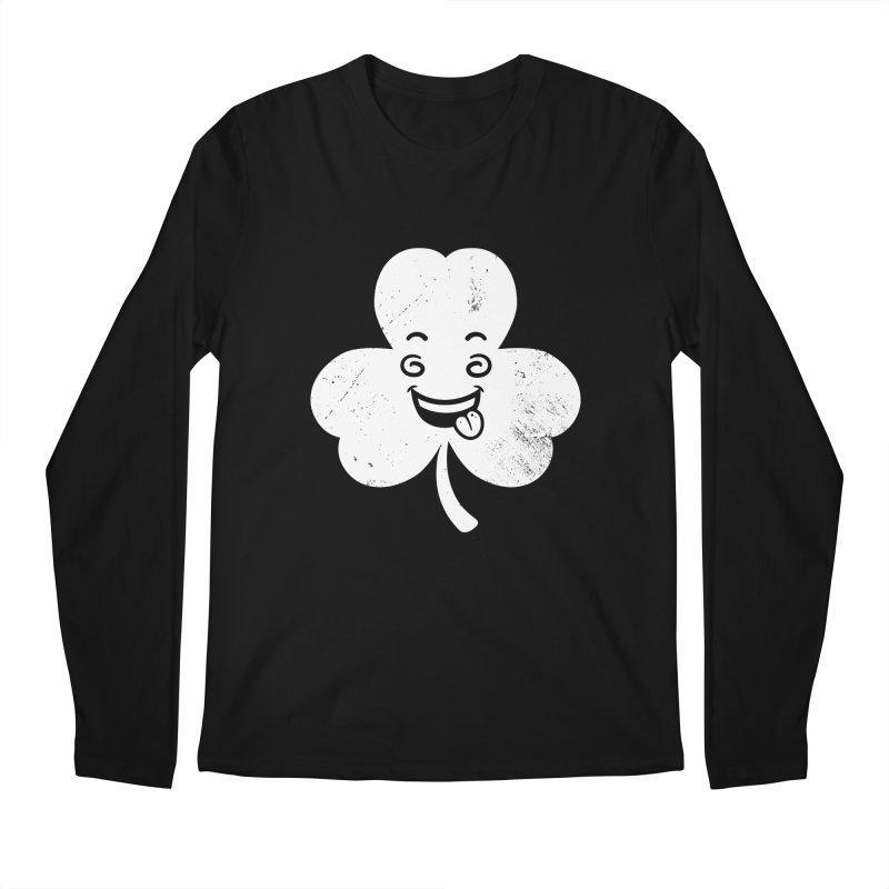 Wacky Shamrock Men's Regular Longsleeve T-Shirt by zoljo's Artist Shop