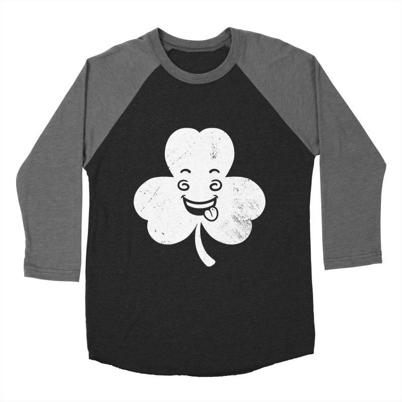 Wacky Shamrock Women's Baseball Triblend Longsleeve T-Shirt by zoljo's Artist Shop
