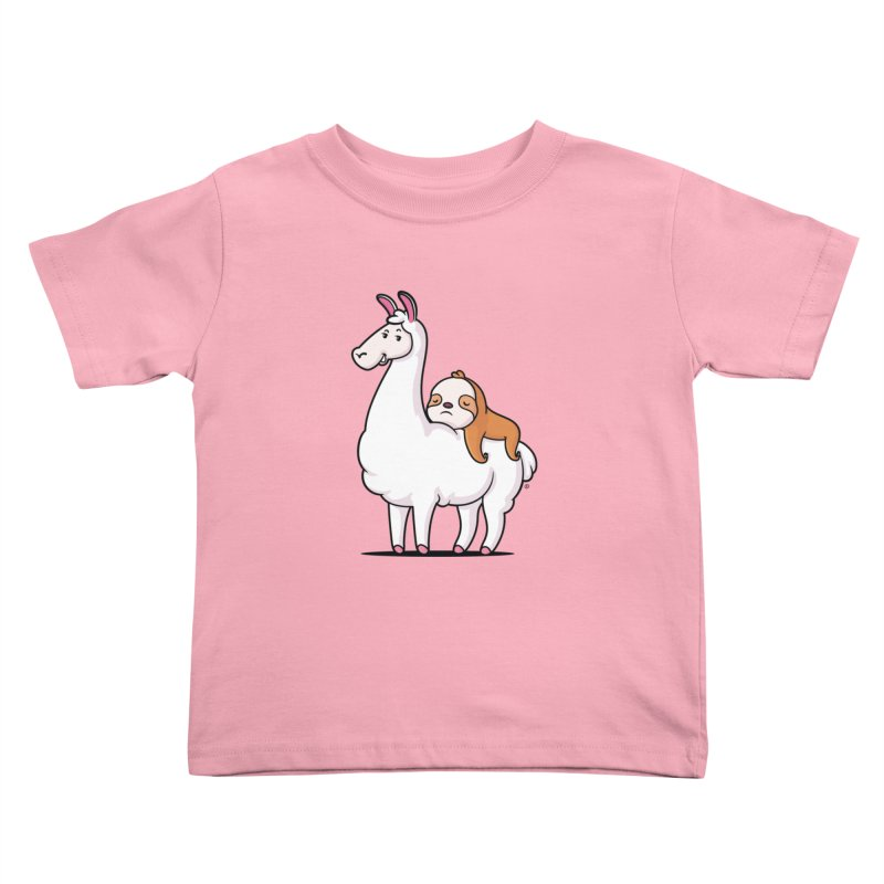 Best Friends LLama and Sloth Kids Toddler T-Shirt by zoljo's Artist Shop