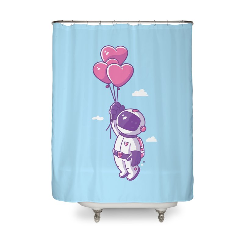 Love Makes Me High Home Shower Curtain by zoljo's Artist Shop