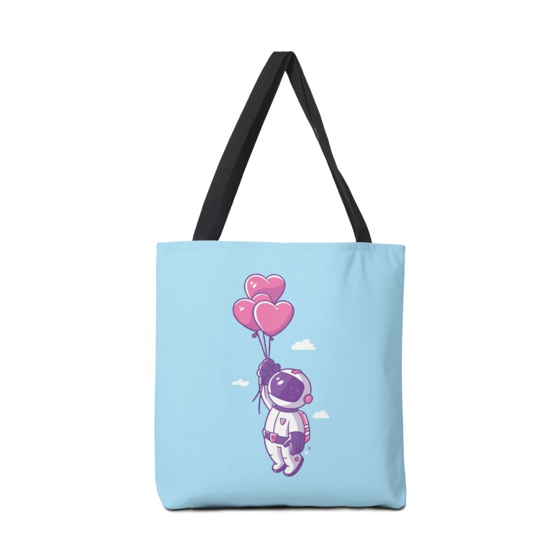 Love Makes Me High Accessories Tote Bag Bag by zoljo's Artist Shop