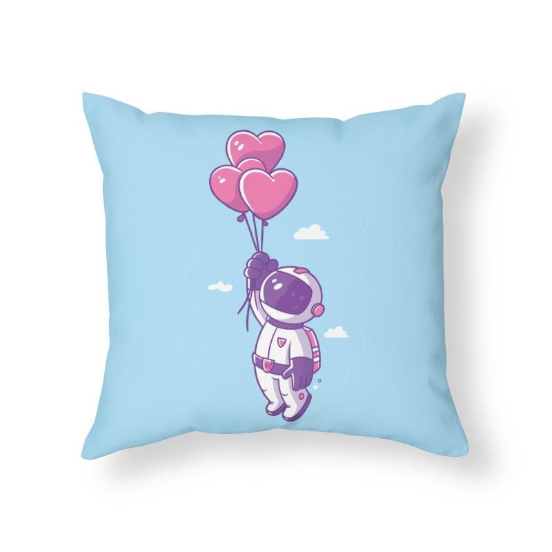 Love Makes Me High Home Throw Pillow by zoljo's Artist Shop