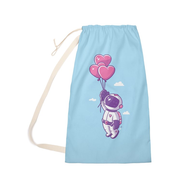 Love Makes Me High Accessories Laundry Bag Bag by zoljo's Artist Shop