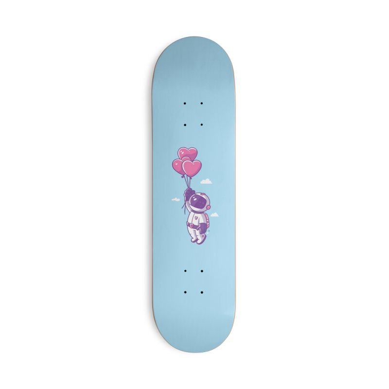 Love Makes Me High Accessories Deck Only Skateboard by zoljo's Artist Shop