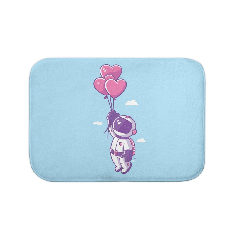 Love Makes Me High Home Bath Mat by zoljo's Artist Shop