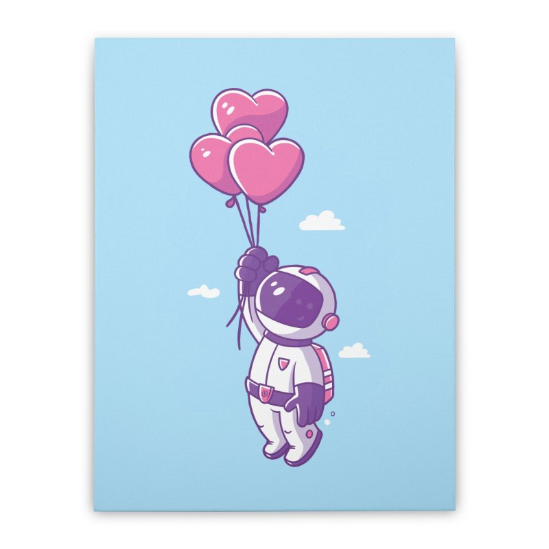 Love Makes Me High Home Stretched Canvas by zoljo's Artist Shop