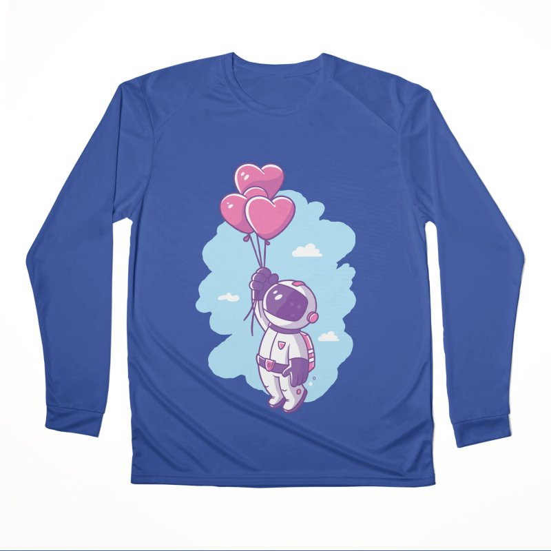 Love Makes Me High Men's Performance Longsleeve T-Shirt by zoljo's Artist Shop