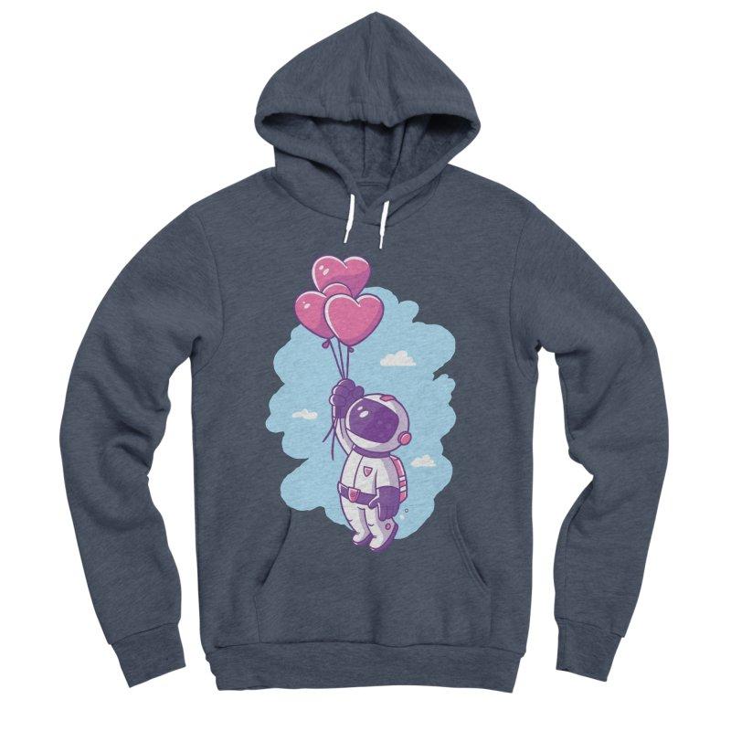 Love Makes Me High Women's Sponge Fleece Pullover Hoody by zoljo's Artist Shop
