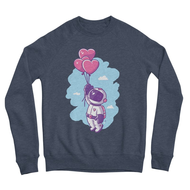 Love Makes Me High Women's Sponge Fleece Sweatshirt by zoljo's Artist Shop