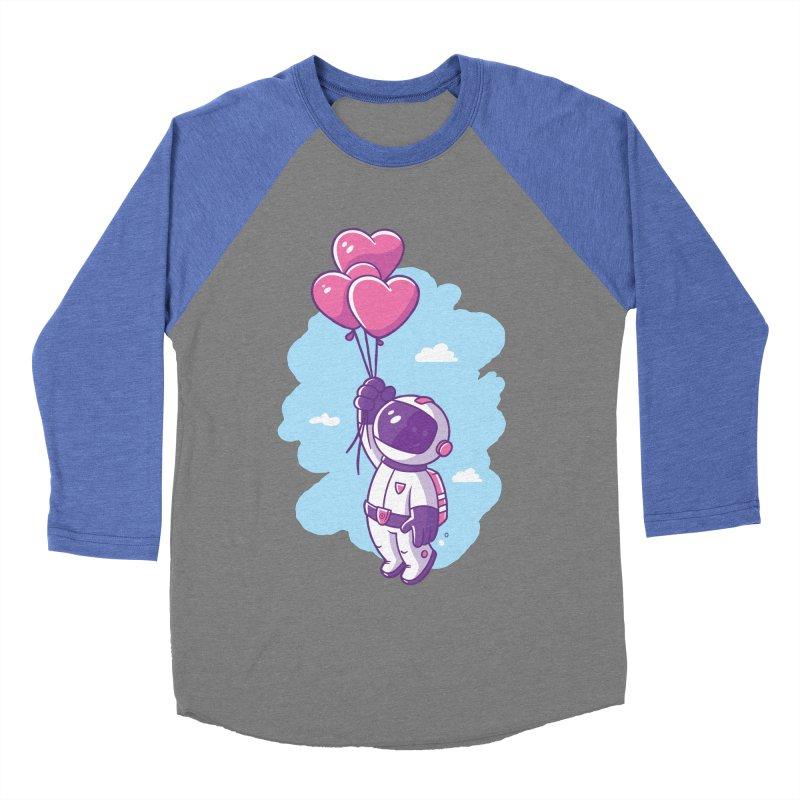 Love Makes Me High Men's Baseball Triblend Longsleeve T-Shirt by zoljo's Artist Shop