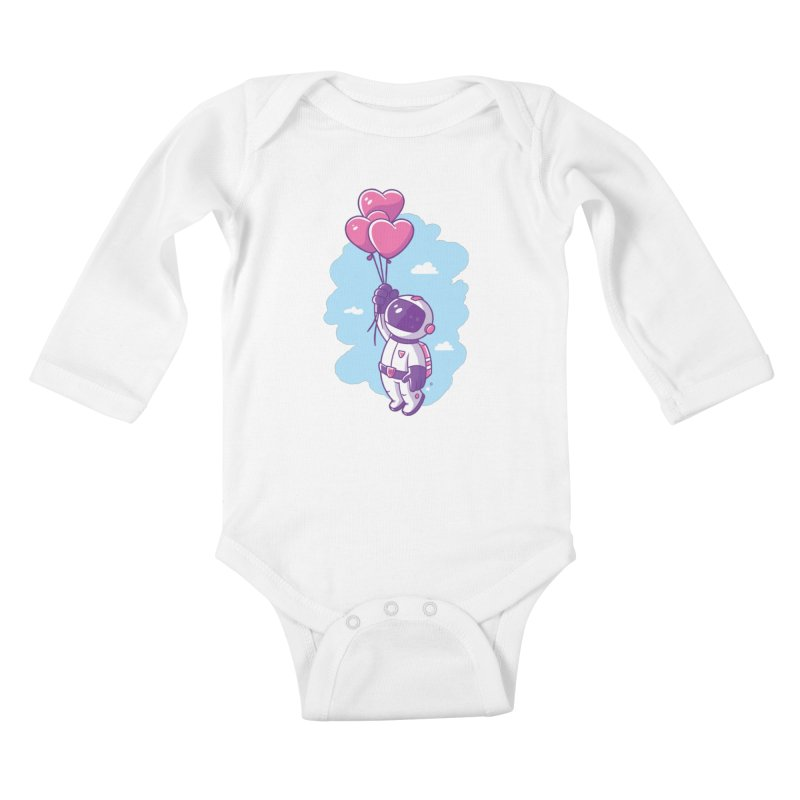 Love Makes Me High Kids Baby Longsleeve Bodysuit by zoljo's Artist Shop