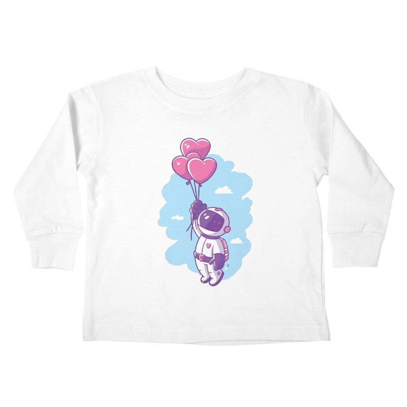 Love Makes Me High Kids Toddler Longsleeve T-Shirt by zoljo's Artist Shop