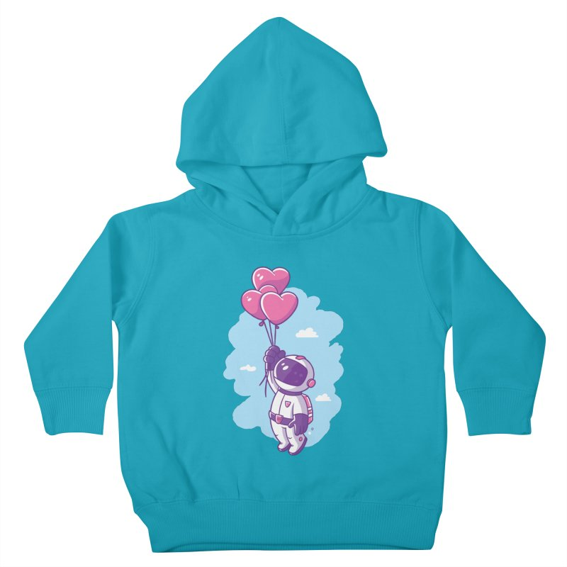 Love Makes Me High Kids Toddler Pullover Hoody by zoljo's Artist Shop