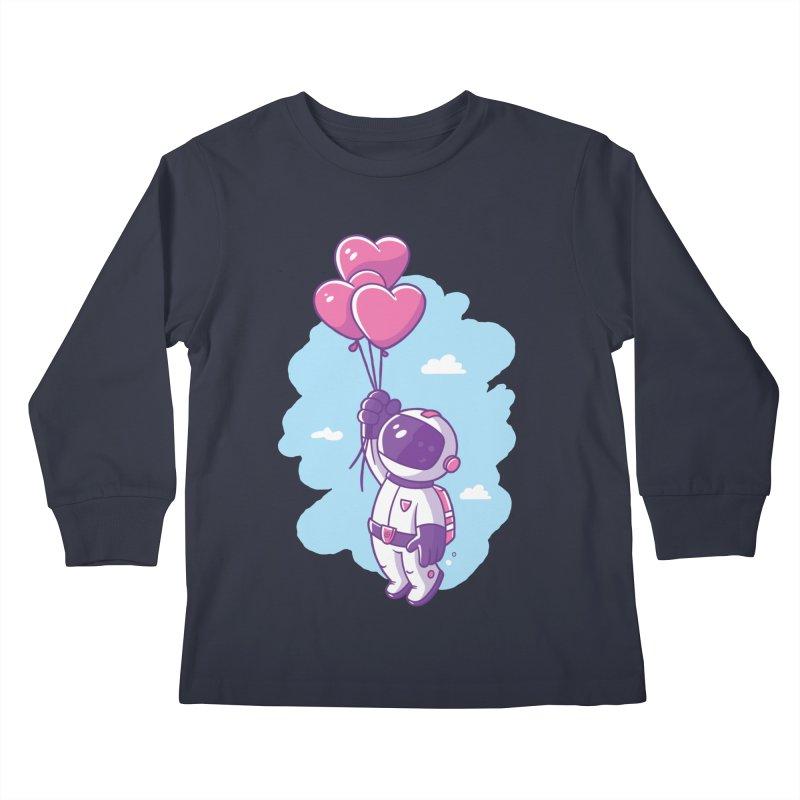 Love Makes Me High Kids Longsleeve T-Shirt by zoljo's Artist Shop