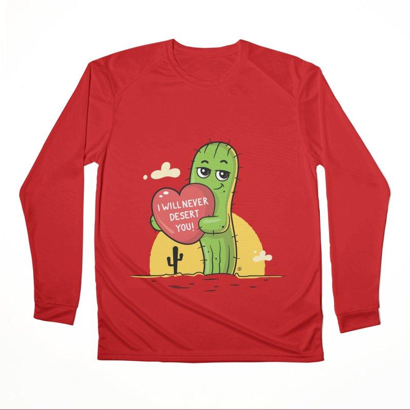 I will never desert you Men's Performance Longsleeve T-Shirt by zoljo's Artist Shop