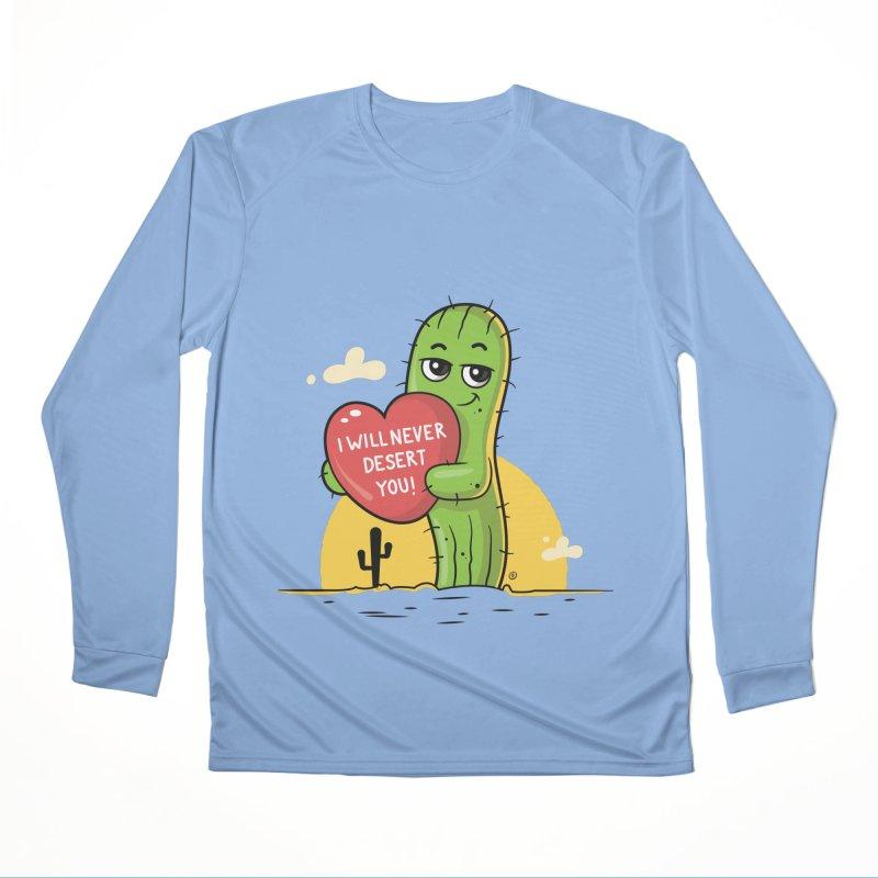 I will never desert you Women's Performance Unisex Longsleeve T-Shirt by zoljo's Artist Shop