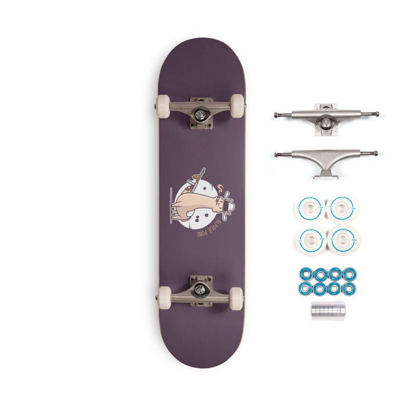 AlpaCa Pone Accessories Complete - Basic Skateboard by zoljo's Artist Shop