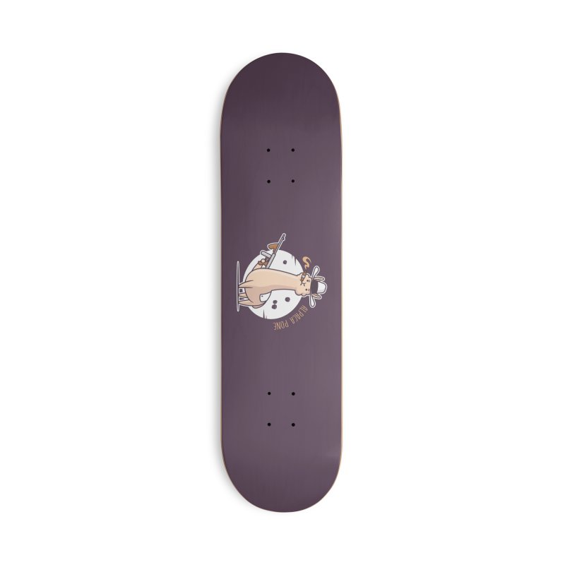AlpaCa Pone Accessories Deck Only Skateboard by zoljo's Artist Shop