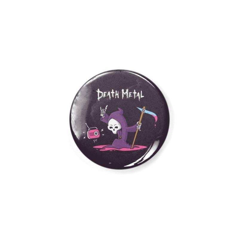 Death Metal Accessories Button by zoljo's Artist Shop