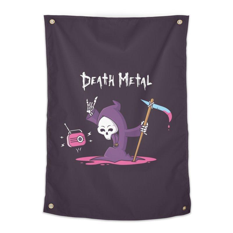 Death Metal Home Tapestry by zoljo's Artist Shop