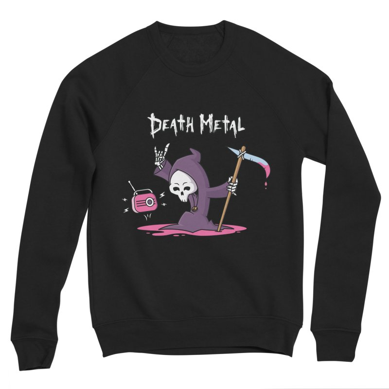 Death Metal Men's Sponge Fleece Sweatshirt by zoljo's Artist Shop