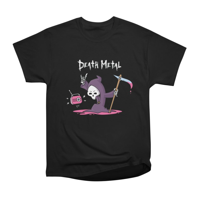 Death Metal Women's Heavyweight Unisex T-Shirt by zoljo's Artist Shop