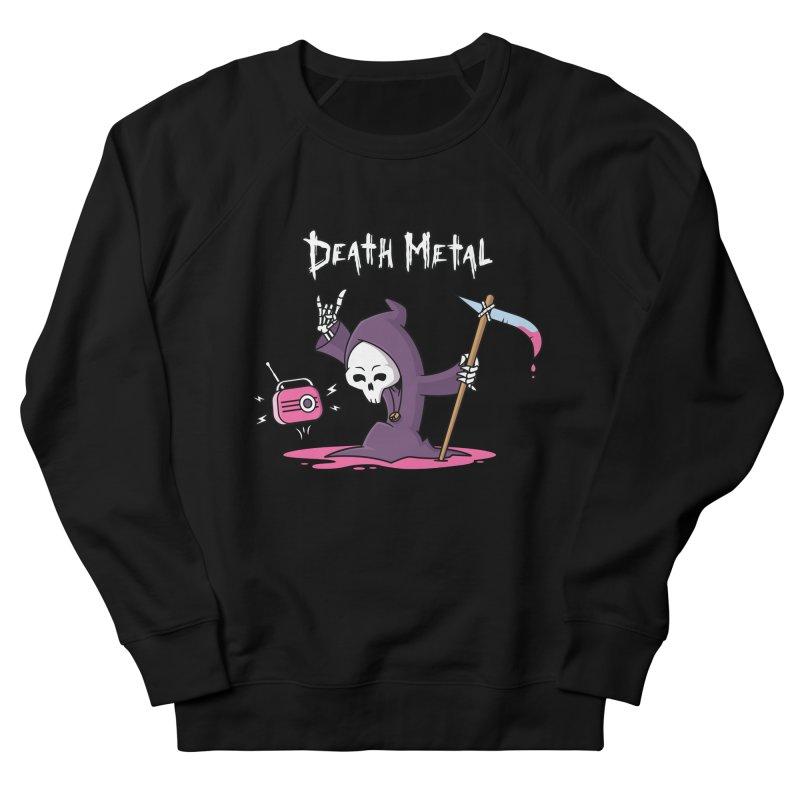 Death Metal Women's French Terry Sweatshirt by zoljo's Artist Shop