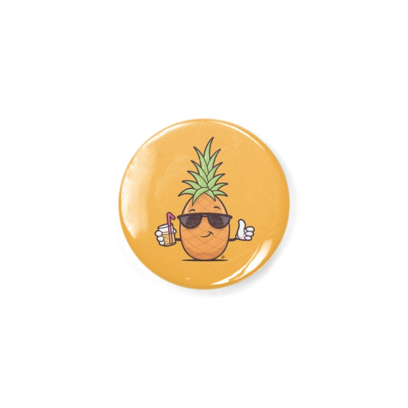 Cool Pineapple Accessories Button by zoljo's Artist Shop