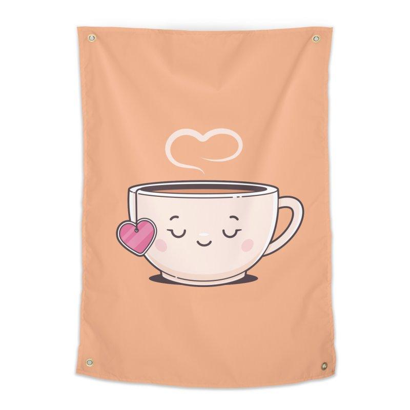 Tea Time Home Tapestry by zoljo's Artist Shop