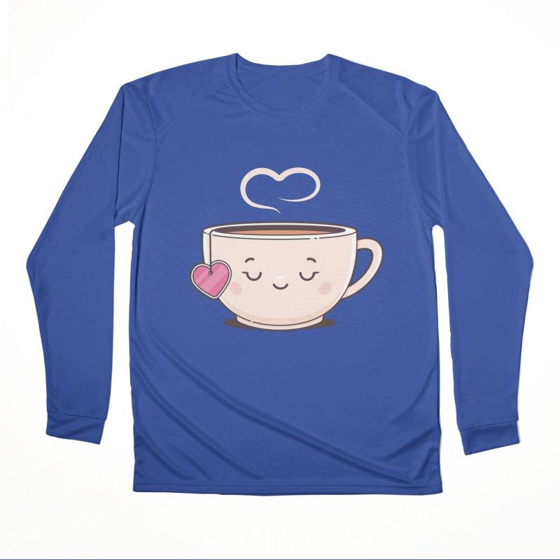 Tea Time Men's Performance Longsleeve T-Shirt by zoljo's Artist Shop
