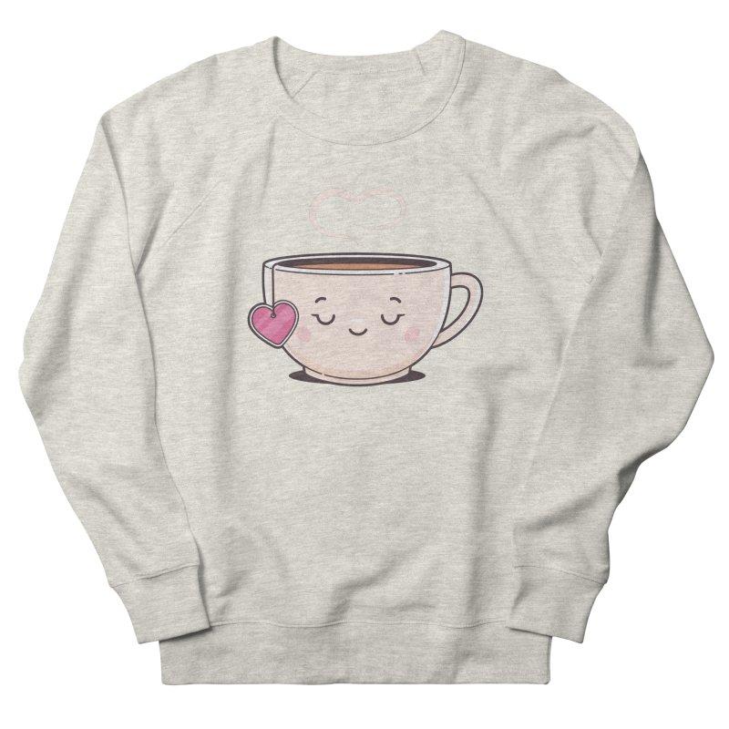 Tea Time Women's French Terry Sweatshirt by zoljo's Artist Shop