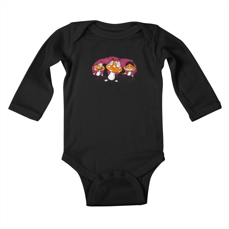 Magic Dance Kids Baby Longsleeve Bodysuit by zoljo's Artist Shop
