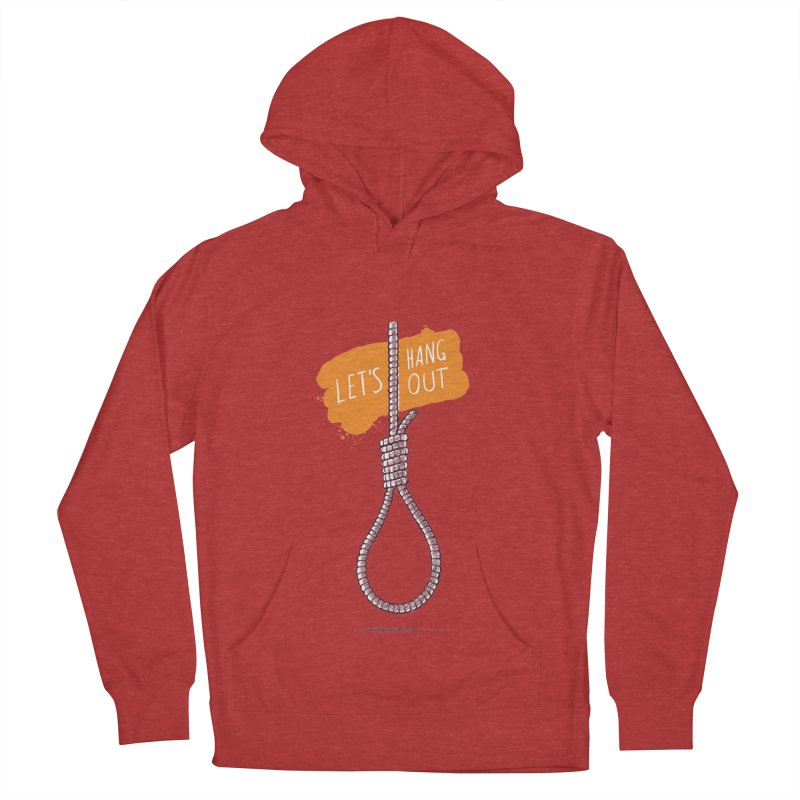 Let's Hang Out Men's Pullover Hoody by zoljo's Artist Shop