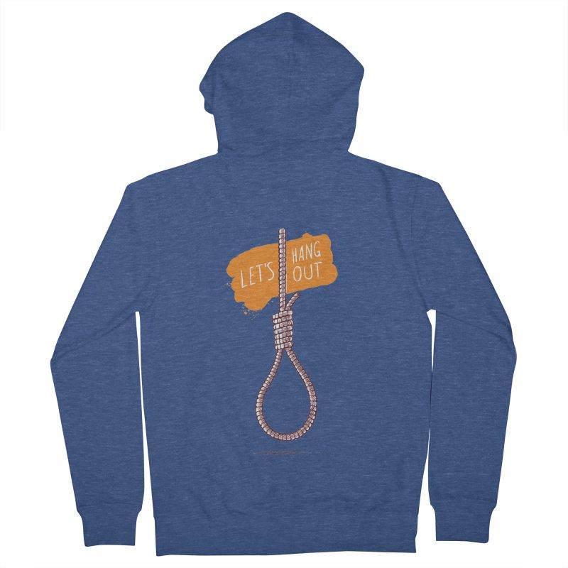 Let's Hang Out Women's Zip-Up Hoody by zoljo's Artist Shop