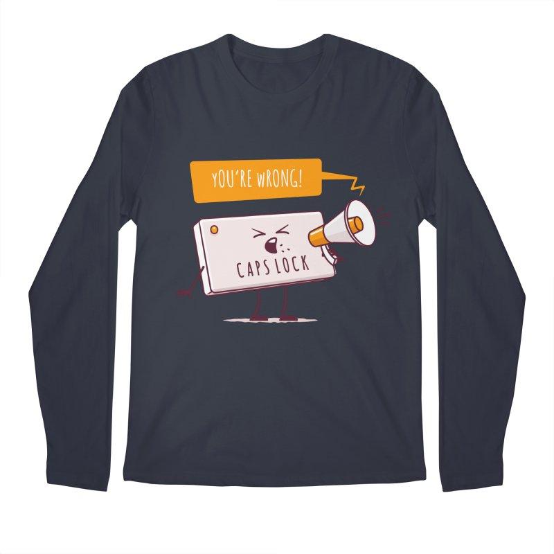 Internet Conflict Men's Longsleeve T-Shirt by zoljo's Artist Shop