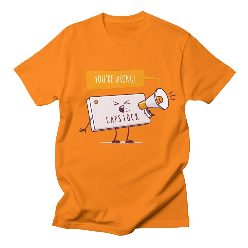 Internet Conflict Men's T-shirt by zoljo's Artist Shop