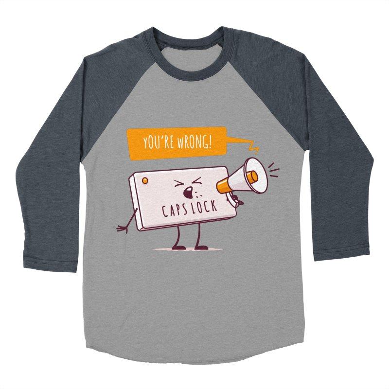 Internet Conflict Men's Baseball Triblend T-Shirt by zoljo's Artist Shop