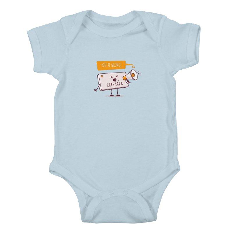 Internet Conflict Kids Baby Bodysuit by zoljo's Artist Shop