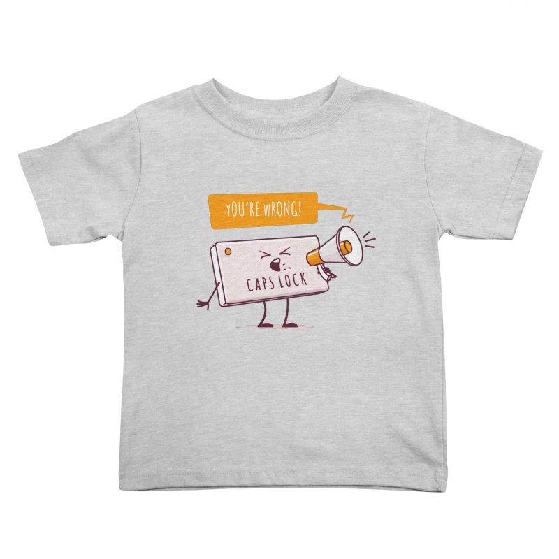 Internet Conflict Kids Toddler T-Shirt by zoljo's Artist Shop