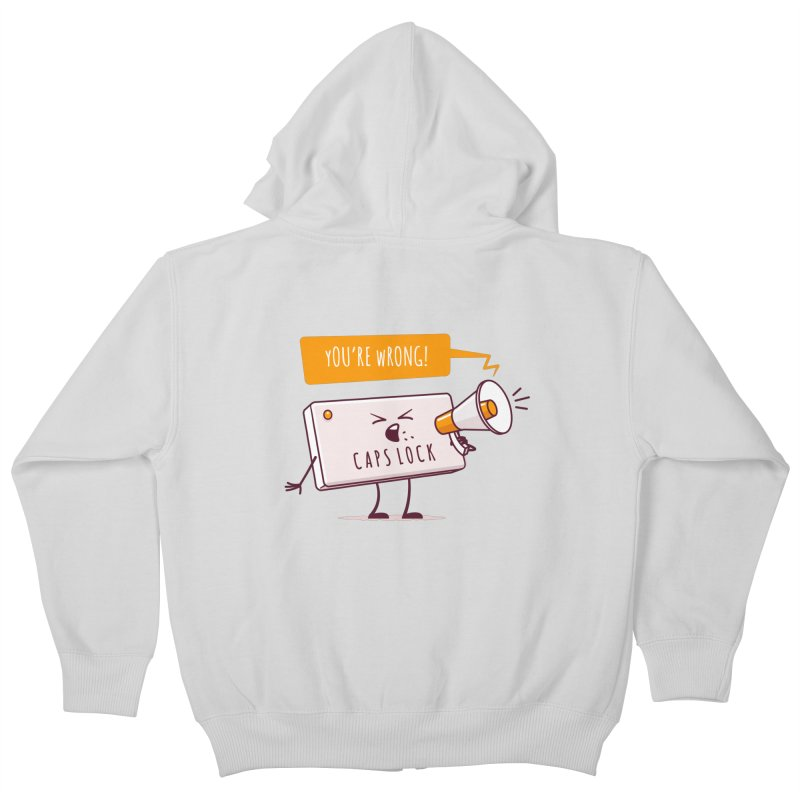 Internet Conflict Kids Zip-Up Hoody by zoljo's Artist Shop
