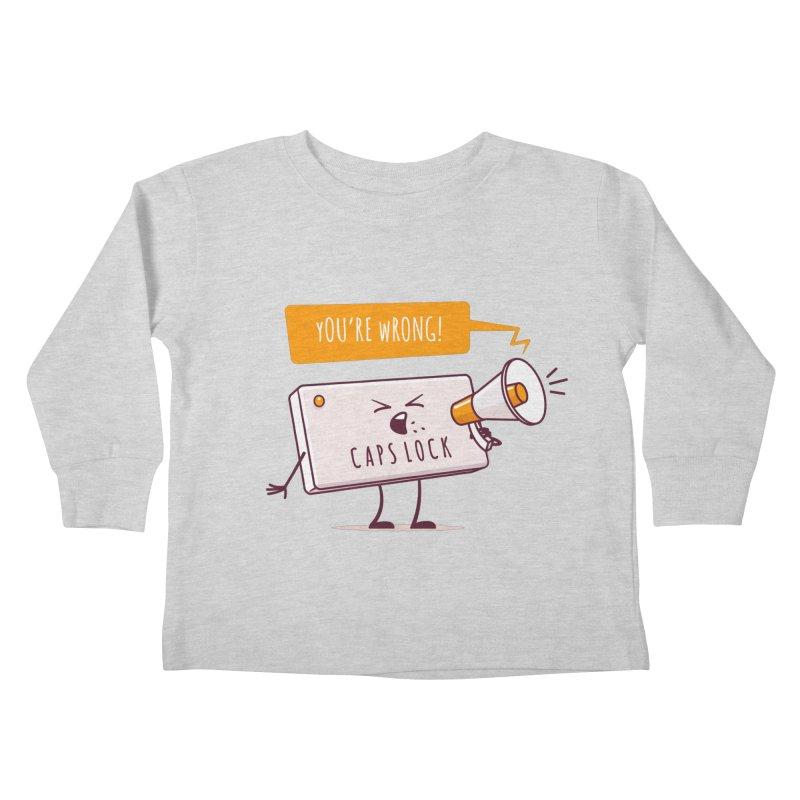 Internet Conflict Kids Toddler Longsleeve T-Shirt by zoljo's Artist Shop