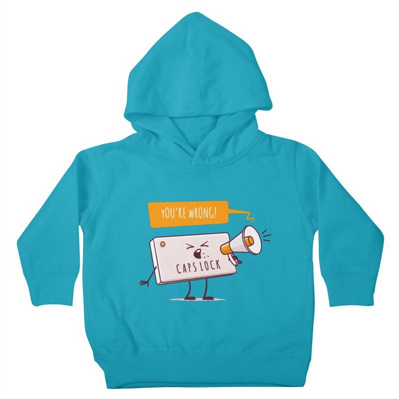 Internet Conflict Kids Toddler Pullover Hoody by zoljo's Artist Shop