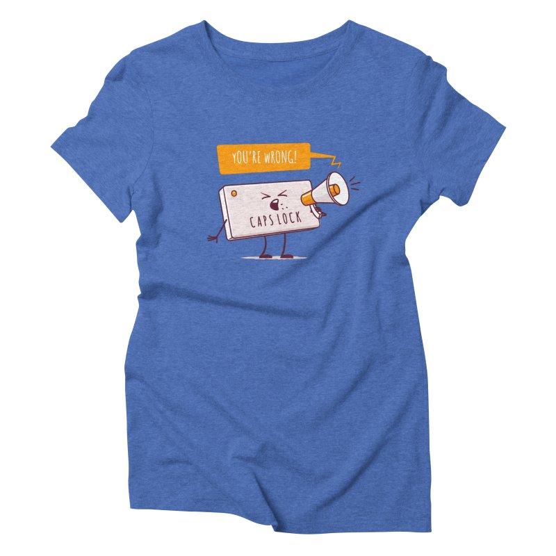 Internet Conflict Women's Triblend T-Shirt by zoljo's Artist Shop