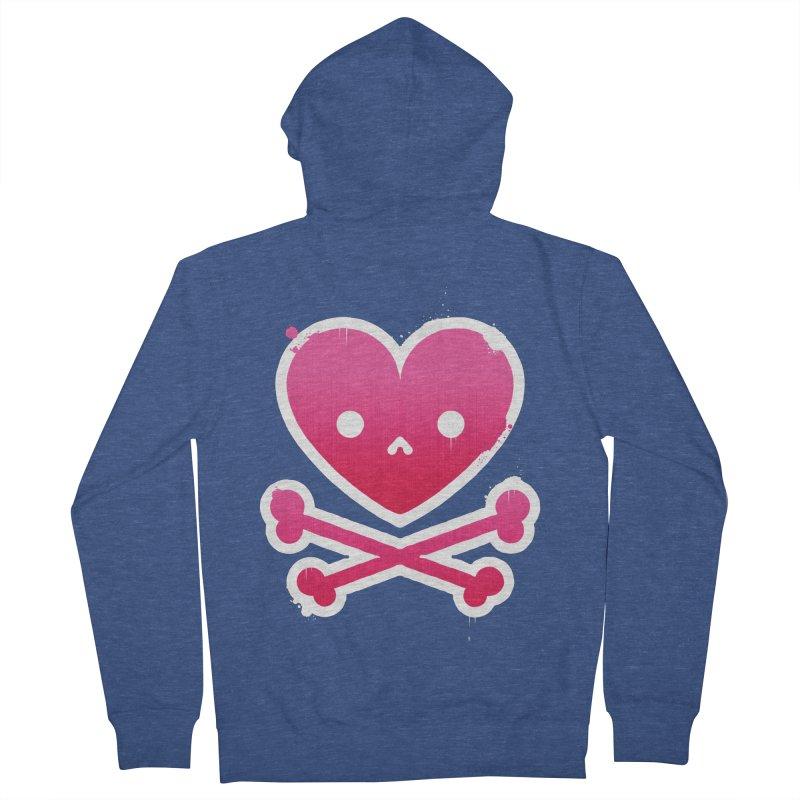 Deadly Love Women's Zip-Up Hoody by zoljo's Artist Shop