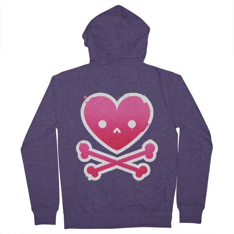 Deadly Love Men's Zip-Up Hoody by zoljo's Artist Shop