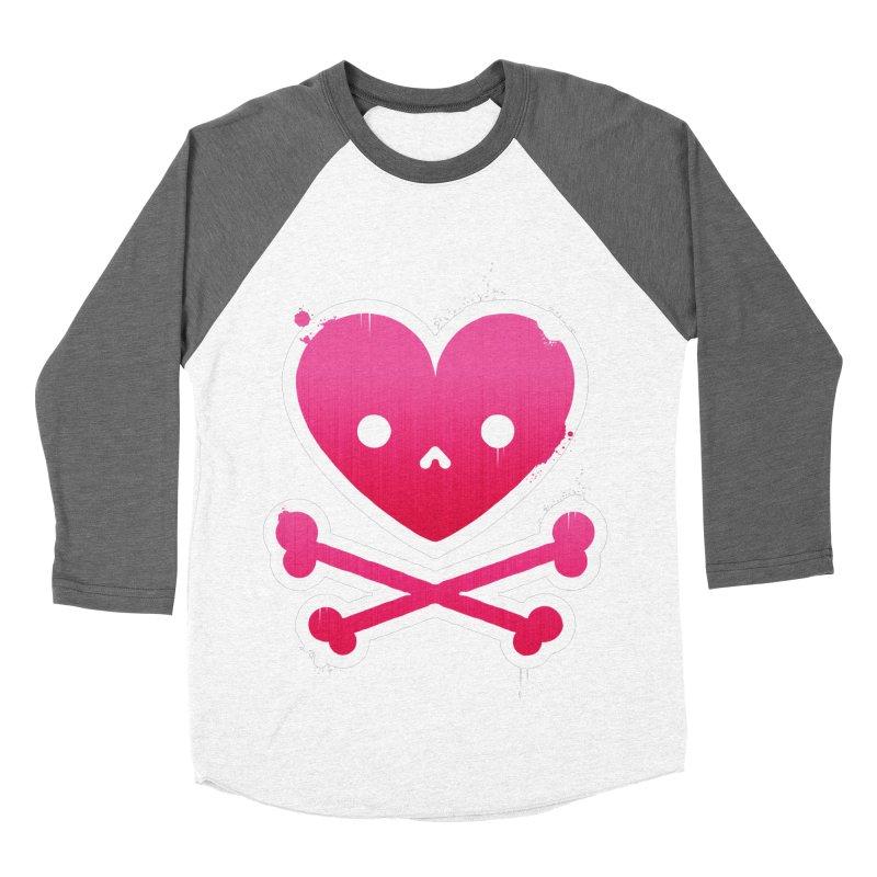 Deadly Love Men's Baseball Triblend T-Shirt by zoljo's Artist Shop